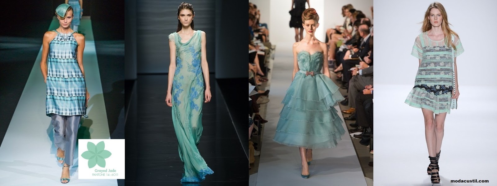 Grayed Jade - Colors Spring Summer 2013 Fashion