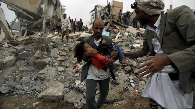Lagi, Serangan Udara Arab Saudi Tewaskan 12 Warga Yaman