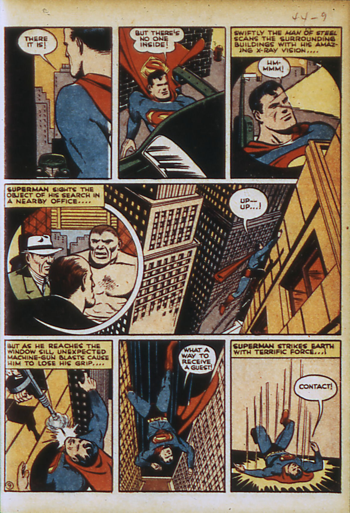 Read online Action Comics (1938) comic -  Issue #44 - 12
