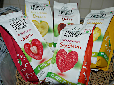 no added sugar snacks, dried fruit