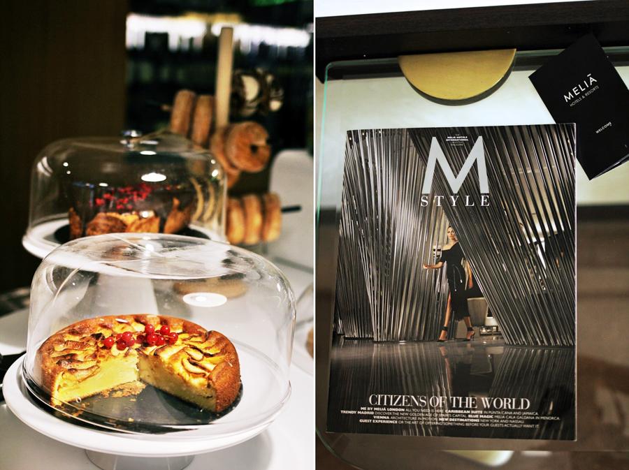 melia m style magazine cake food lifestyle sarria barcelona spain