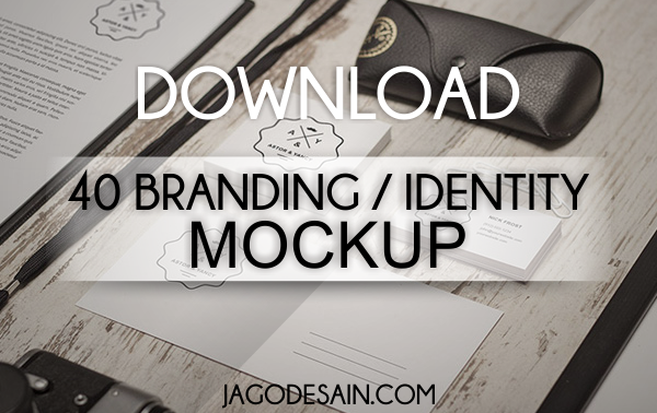 Download 40 Branding Identity dan Stationery Mockup Gratis