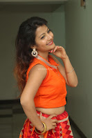 Shubhangi Bant in Orange Lehenga Choli Stunning Beauty ~  Exclusive Celebrities Galleries 035.JPG