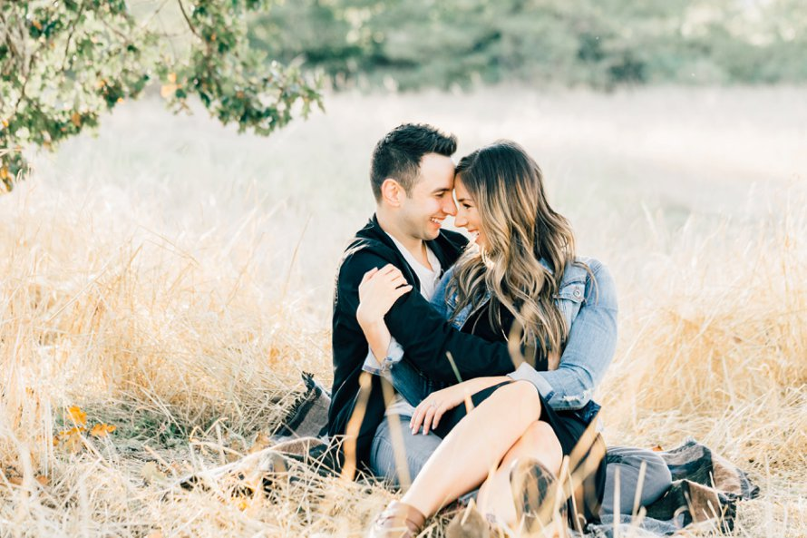 Golden Fall Engagement Session by Bonney Lake Wedding Photographer Something Minted