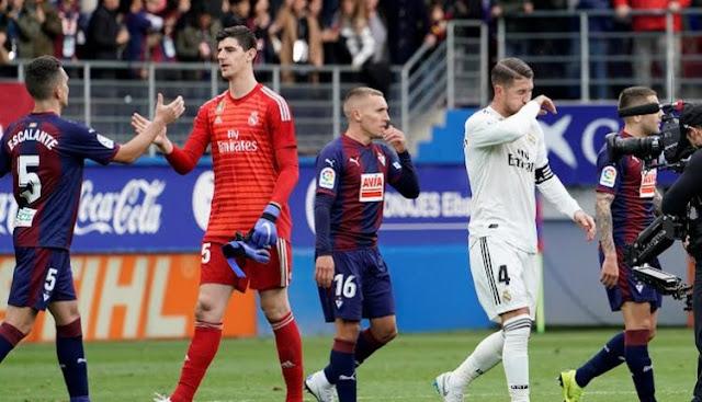 Reaksi Solari Usai Eibar Bantai Real Madrid