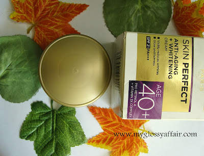 L'oreal Paris Skin Perfect Anti- Imperfections + Whitening Cream 40+ Review