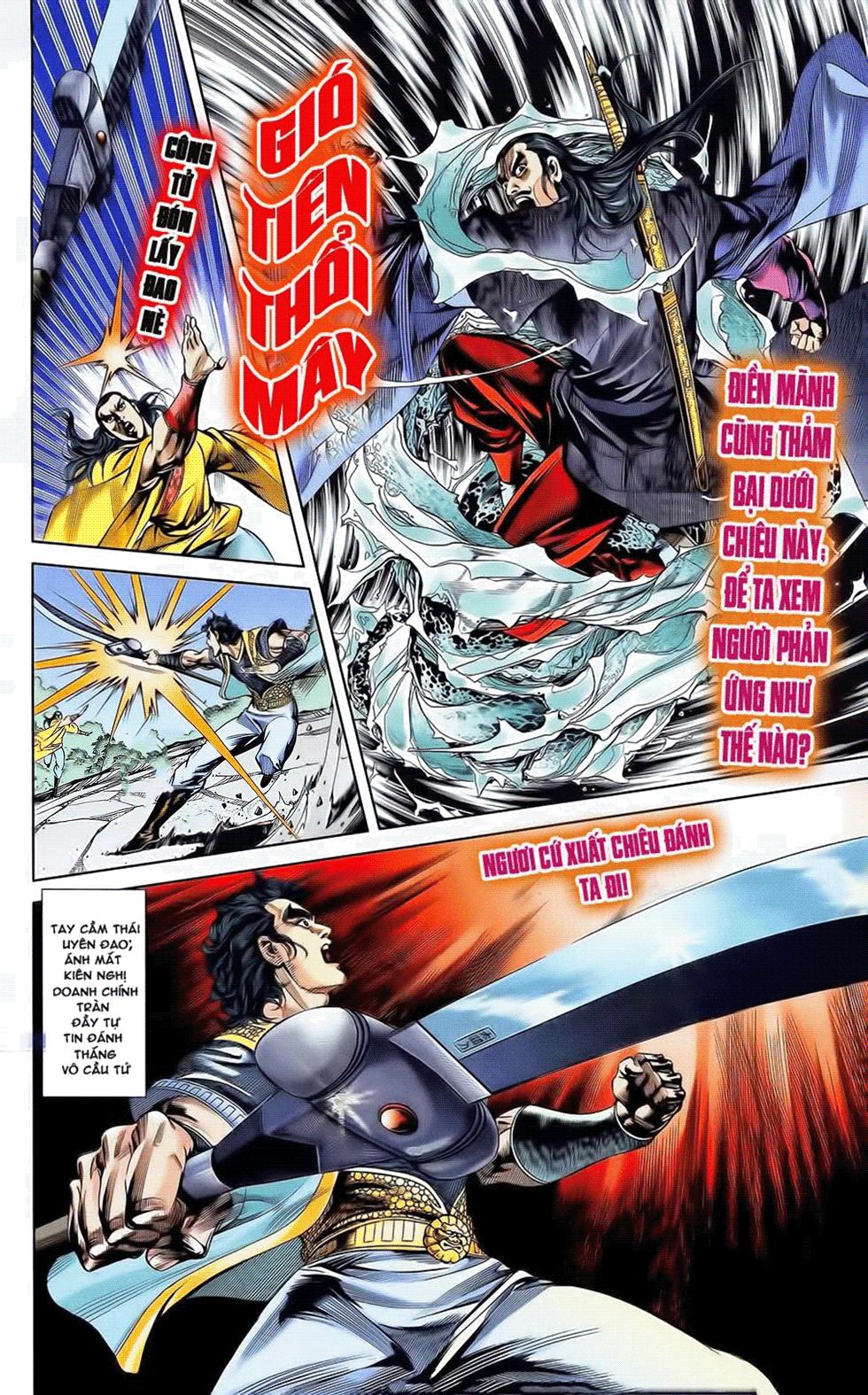 Tần Vương Doanh Chính chapter 20 trang 17