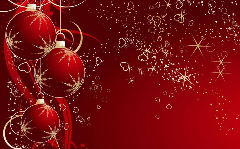 božićne e čestitke besplatne 1440x900 Pozadine za desktop: Crvene kuglice za bor, čestitka za Božić božićne e čestitke besplatne
