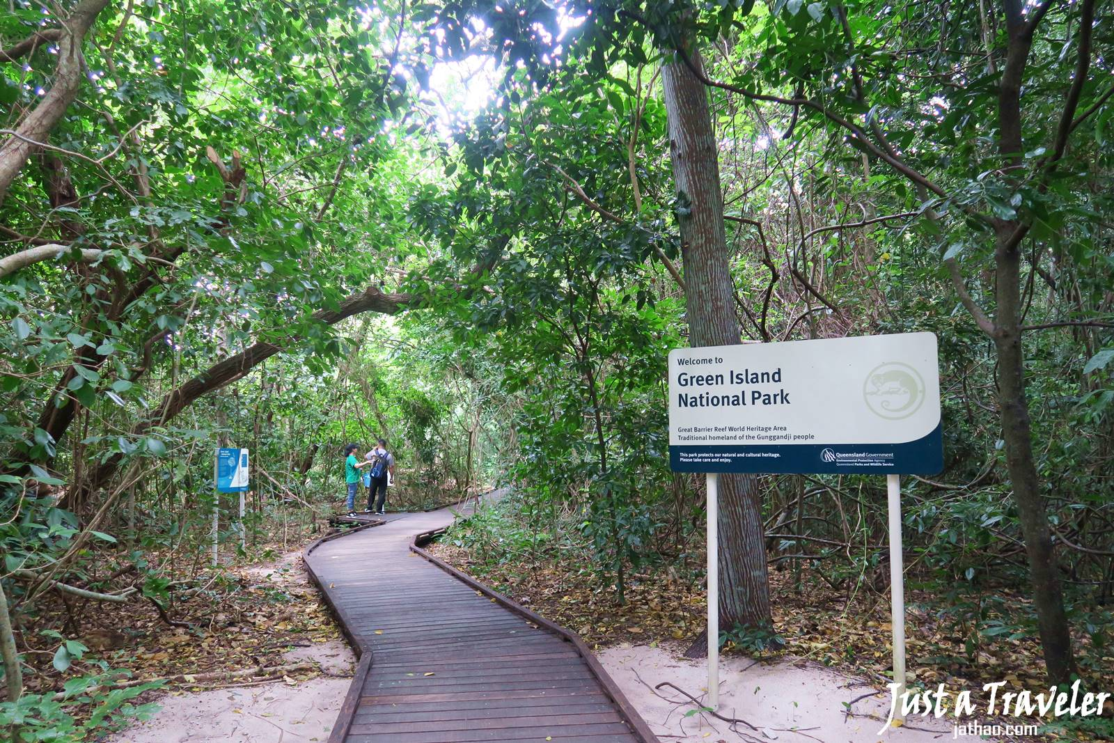 凱恩斯-大堡礁-綠島-內堡礁-國家公園-推薦-旅遊-自由行-澳洲-Carins-Great-Barrier-Reef-Green-Island-National-Park-Travel-Australia