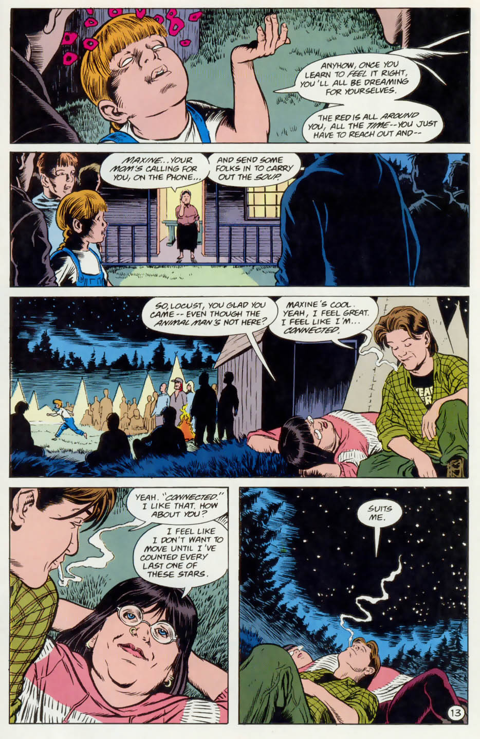 Read online Animal Man (1988) comic -  Issue #74 - 14
