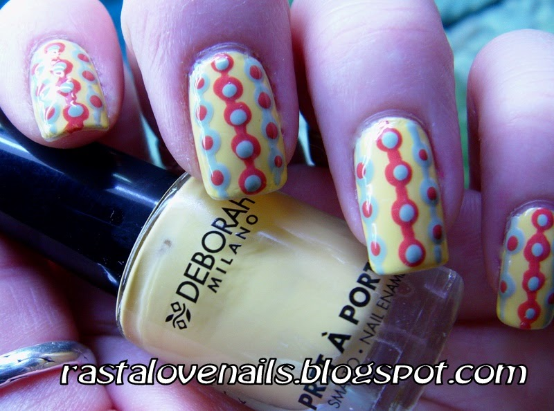 All about nails: Retro nail art design