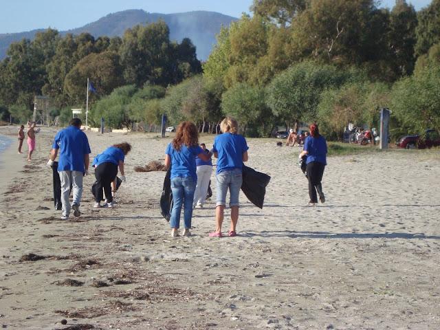 Ηγουμενίτσα: Το ΚΕΘΕΑ ΗΠΕΙΡΟΣ καθαρίζει την παραλία του Δρεπάνου