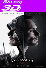 Assassin's Creed (2016) 3D SBS / HOU