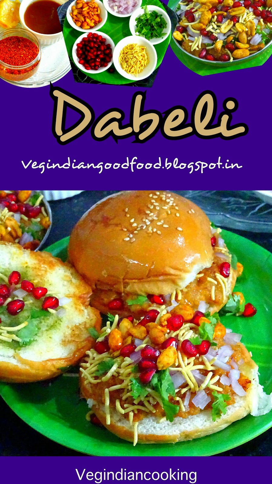 Veg indian cooking dabeli saturday september 17 2016 forumfinder Image collections
