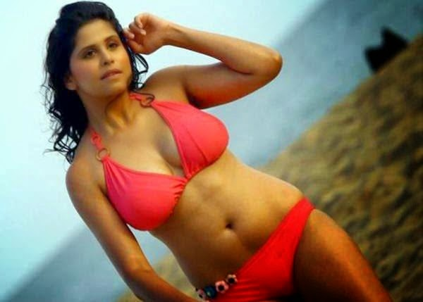 Hunterrr Hindi Movie Sai Tamhankar Bikini Stills