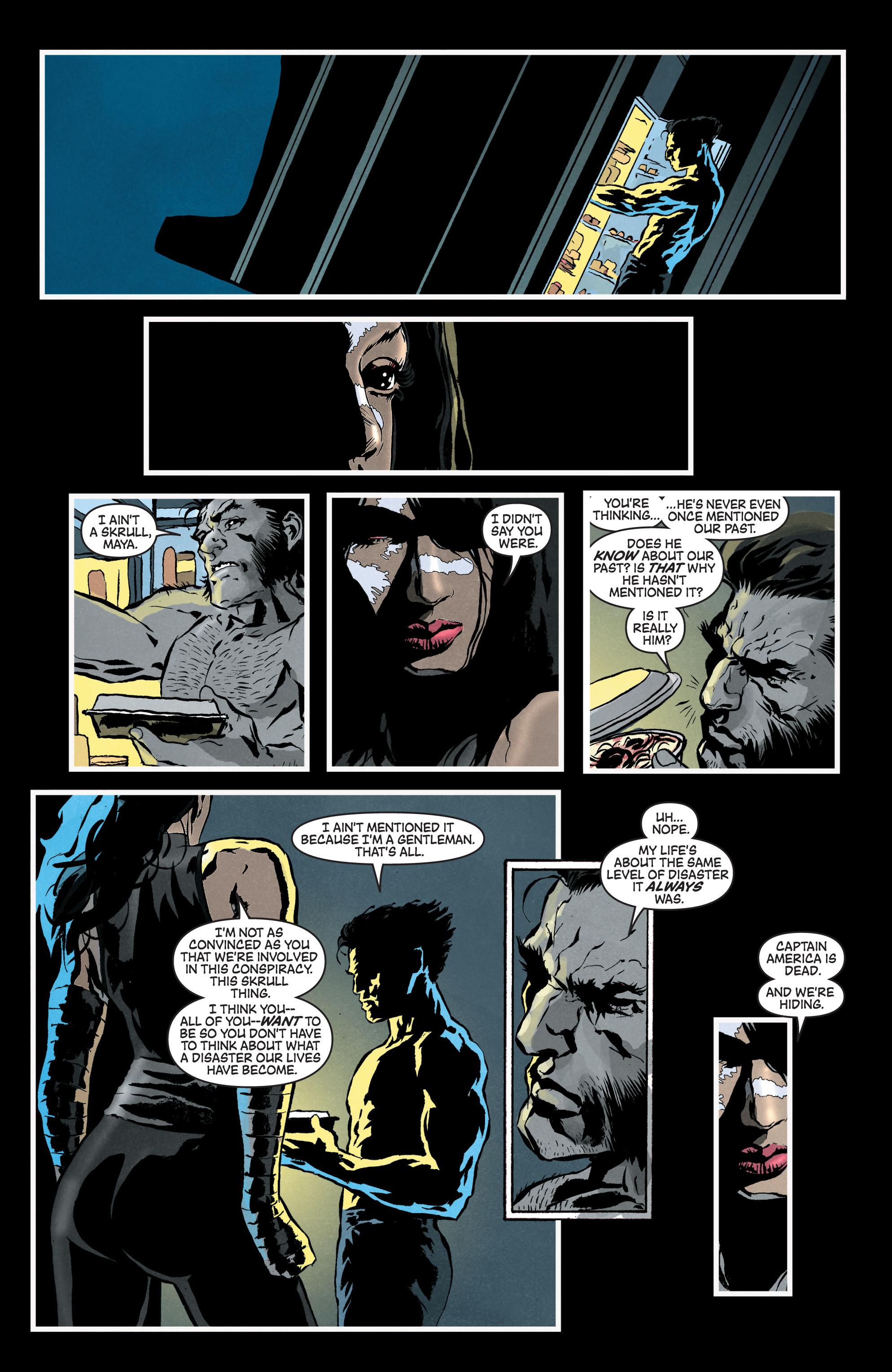Read online Secret Invasion: The Infiltration comic -  Issue #7 - 4