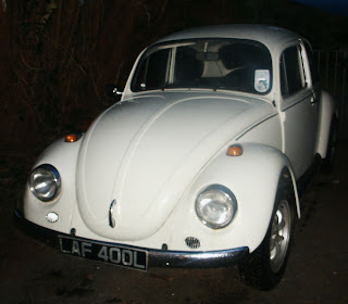Betty the white Beetle