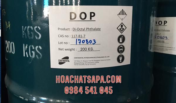 Chất hóa dẻo Di-Octyl Phthalate DOP