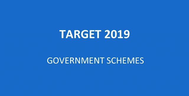 UPSC Target 2019 - Government Schemes