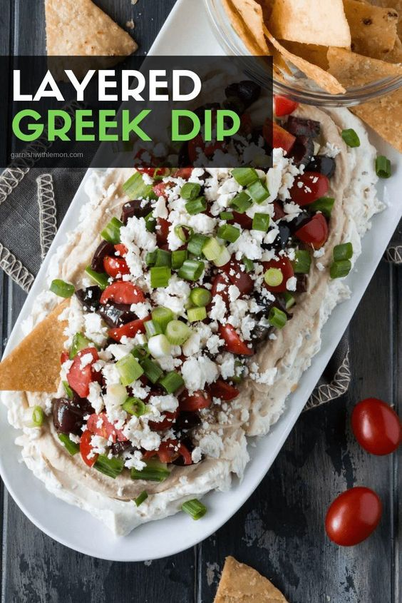 Need an easy, flavorful appetizer for a crowd? Look no further than this Layered Greek Dip recipe. It's the veggie-packed, Mediterranean version of the popular 7 Layer Dip!