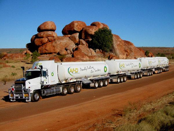 """Australian """"Road-Train"""""""
