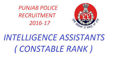 Punjab Police Vacancies, Jobs in Punjab police, Police Jobs