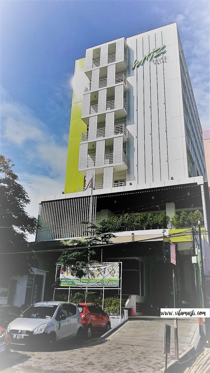 Staycation di Whiz Prime Hotel Sudirman Makassar