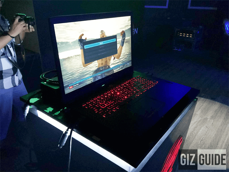ASUS ROG Strix GL702ZC sports the powerful AMD Ryzen CPU