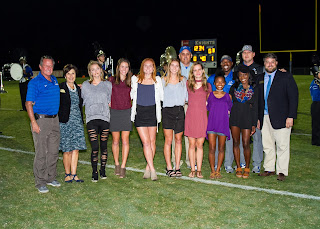 Montgomery Catholic Crowns 2017 Homecoming Queen and King 4