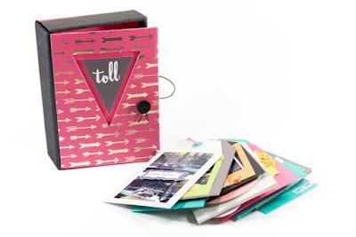 Tag Minialbum in einer Box