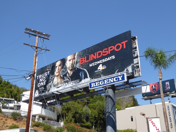 Blindspot season 2 billboard