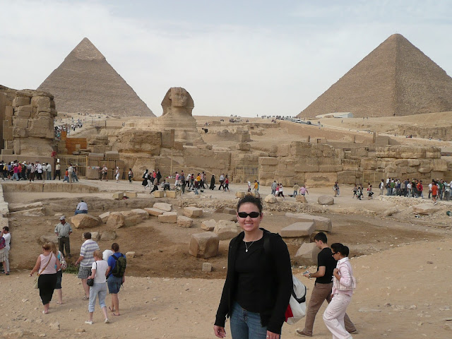 Great Pyramids of Giza & Sphinx