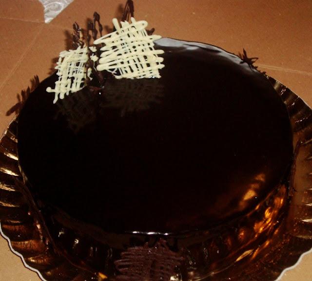 Chocolate Mirror Glaze Glazura De Ciocolata