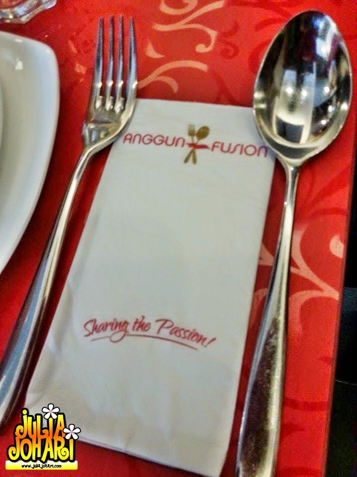 Food Review Anggun Fusion Sri Hartamas  Julia Johari