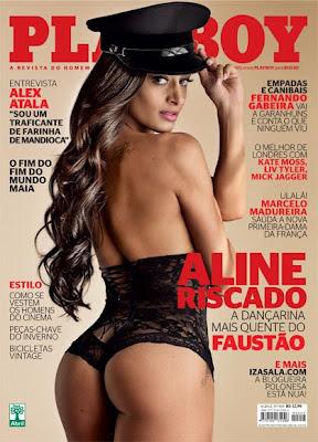 Playboy Brasil Junho 2012 - Aline Riscado