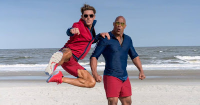 Baywatch Movie Zac Efron Dwayne Johnson