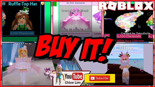 Roblox Royale High Gameplay! Shopping spree with the Diamonds earned from finishing the Easter EVENT!