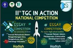 Lomba Essay Nasional Mahasiswa TIA 2018 di IPB
