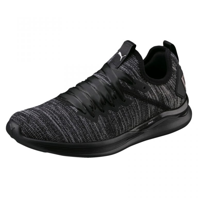 PUMA 'Flash Ignite' evoKNIT Sneaker in Black