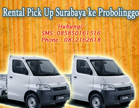Rental Pick Up Surabaya ke Probolinggo