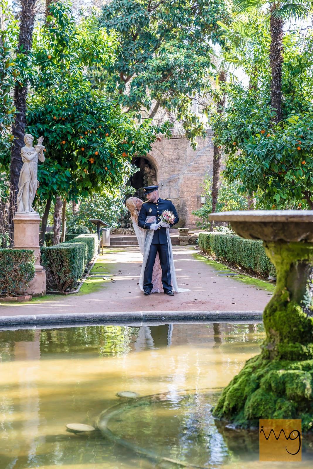 Fotógrafos de boda en Granada. Carmen de los Mártires.