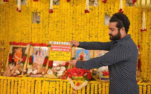 NTR New Film Launched