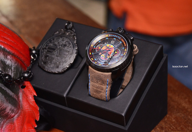 Unique, loud timepieces from BOMBERG