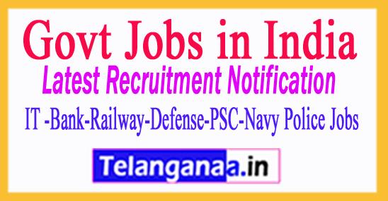 Corporation of Chennai Recruitment