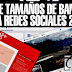 Guia de Tamaños de banners para redes sociales 2016 (Facebook, twitter, youtube)