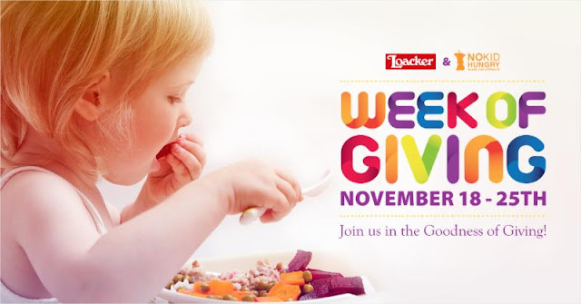 Join Susie's Reviews & Loacker for a Week of Giving - November 18-25!
