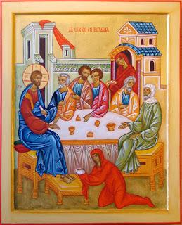Resultado de imagem para Unção em Betânia icone