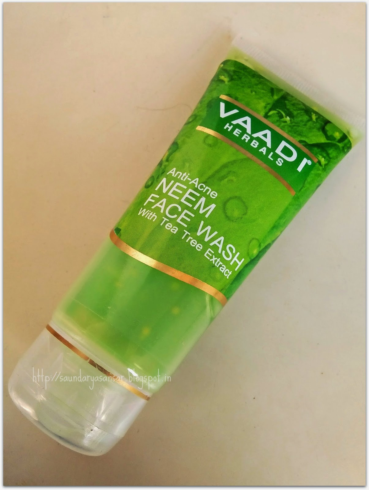 Vaadi Herbals Anti Acne Neem Face Wash with Tea Tree extracts
