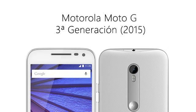 Flashear, instalar firmware Moto G 2015