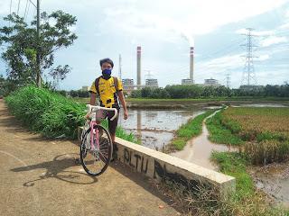 Bersepeda Ke PLTU Tanjung Jati B